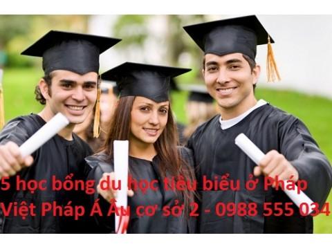 5 cơ hội học bổng du học Pháp tiêu biểu nhất
