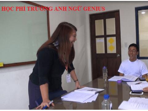 chương trình, khóa học và học phí tại học viên Anh ngữ Genius Phillippine