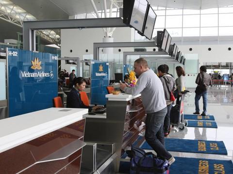 Thủ tục khi bay của Vietnam airline