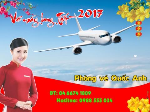 Đặt mua vé máy bay tết 2017